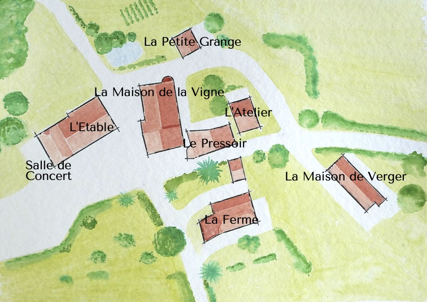 Plan La Bourdère